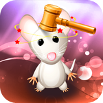 Animal Whack : Cuddle Hammer on Mouse and Monkey and Rabbit - Gold Edition